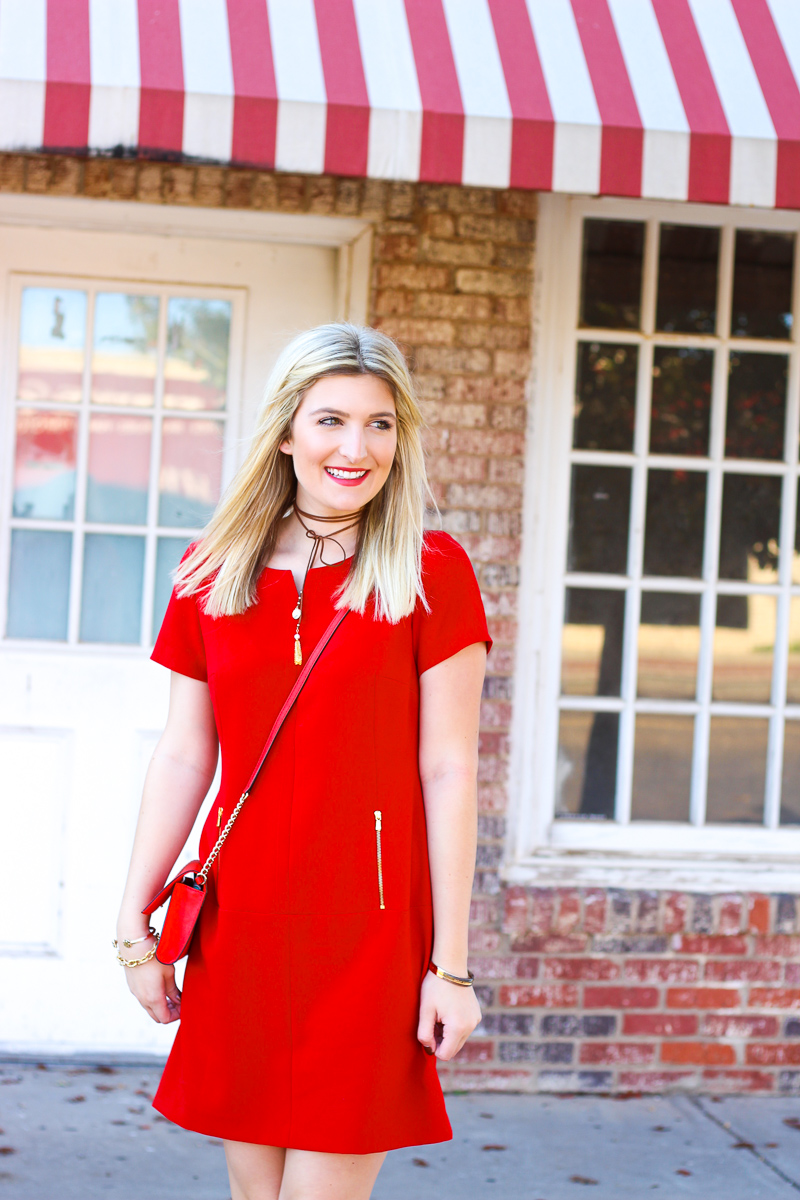 Red Holiday Dress You Need | AMS Blog