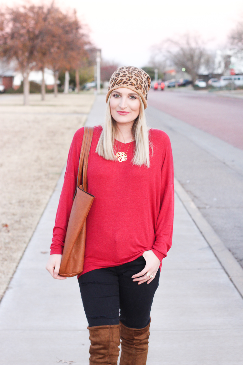 Dallas To-Do list & cute beanie | AMS Blog