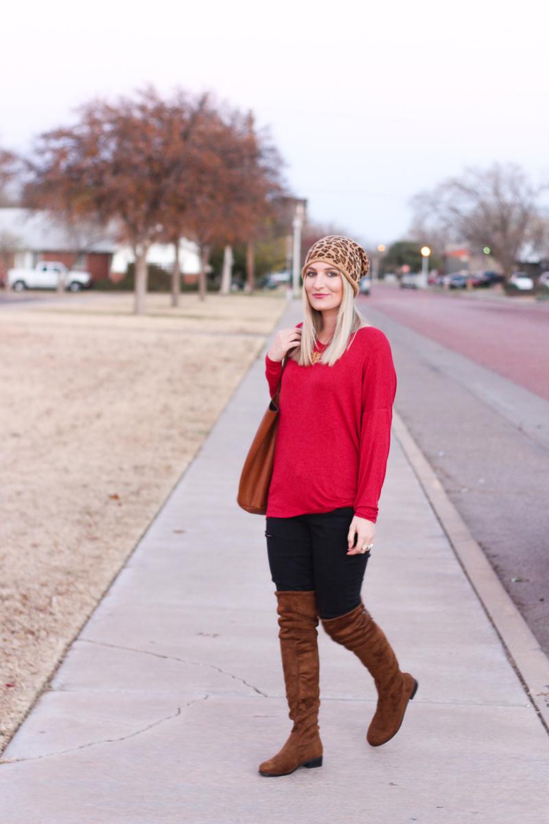 Dallas To-Do list & cute beanie   AMS Blog