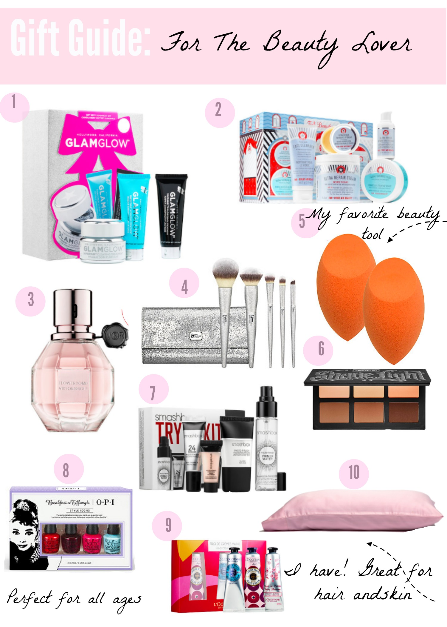Gift Guide For the Beauty Lover | AMS Blog