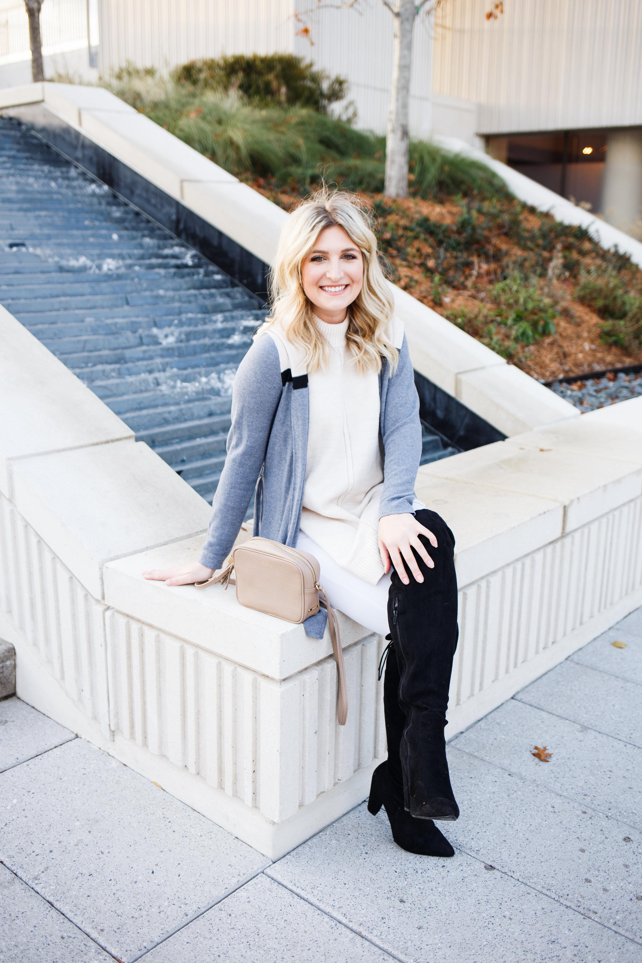 Winter Shades of White & Cream | AMS Blog | Dallas/ Lubbock college fashion blogger