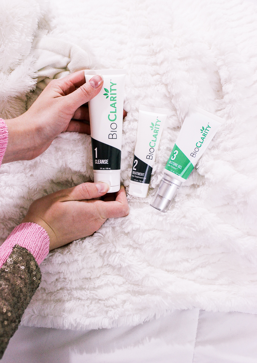 Clear Skin For the New Year With BioClarity Fashion and Lifestyle blogger Audrey Madison Stowe