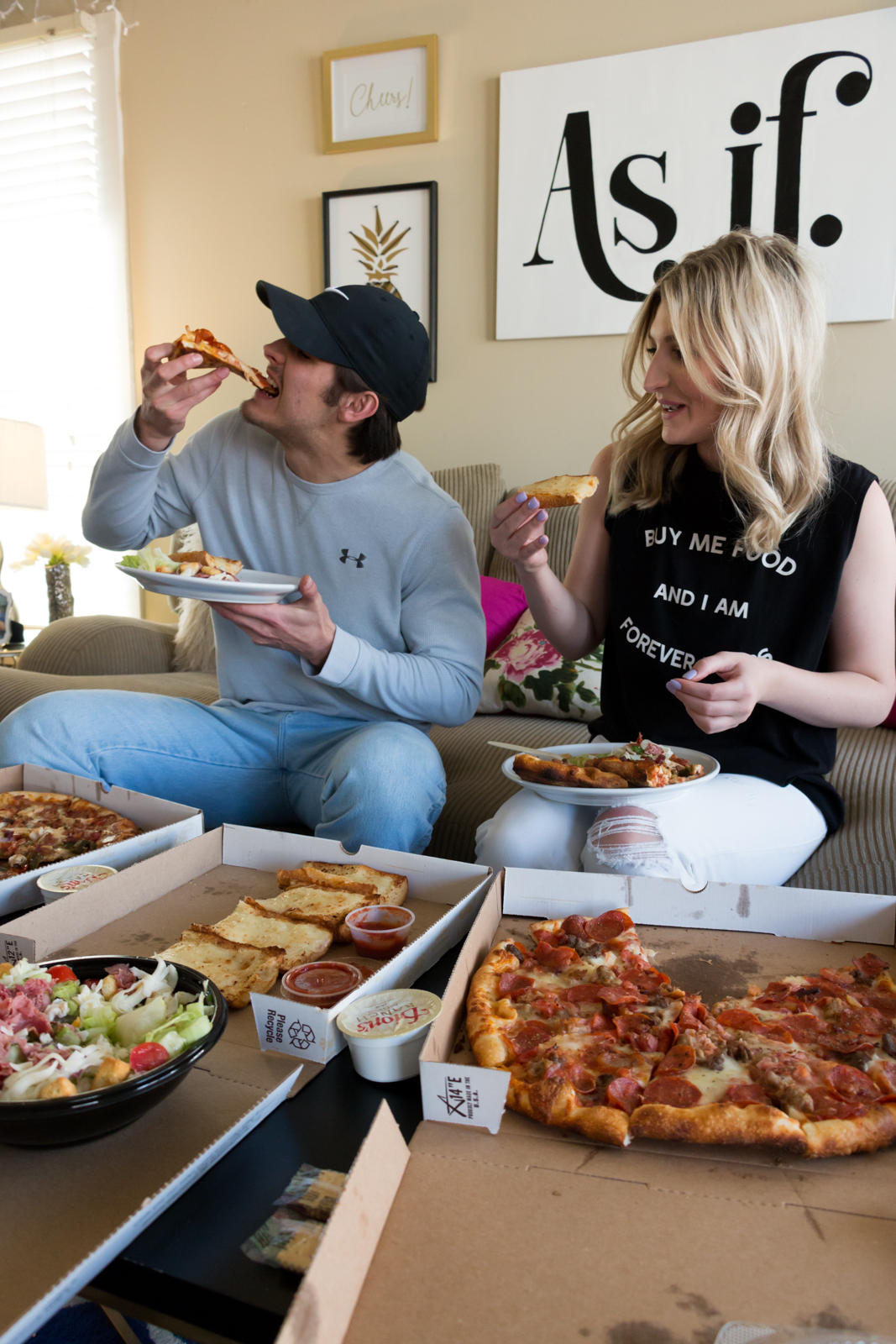 Spring Date Night with Dion's Pizza by lifestyle and fashion blogger Audrey Madison Stowe   Lubbock and Dallas based