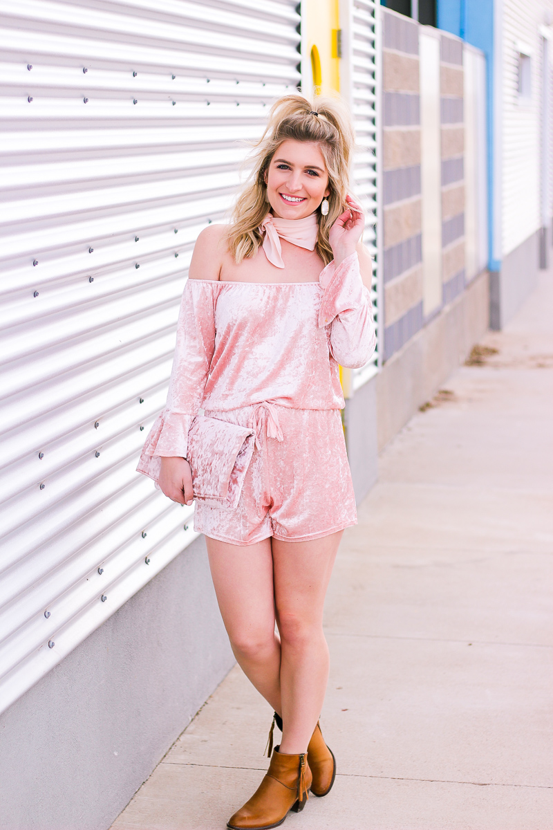 Velvet for The Spring by life and style blogger Audrey Madison Stowe