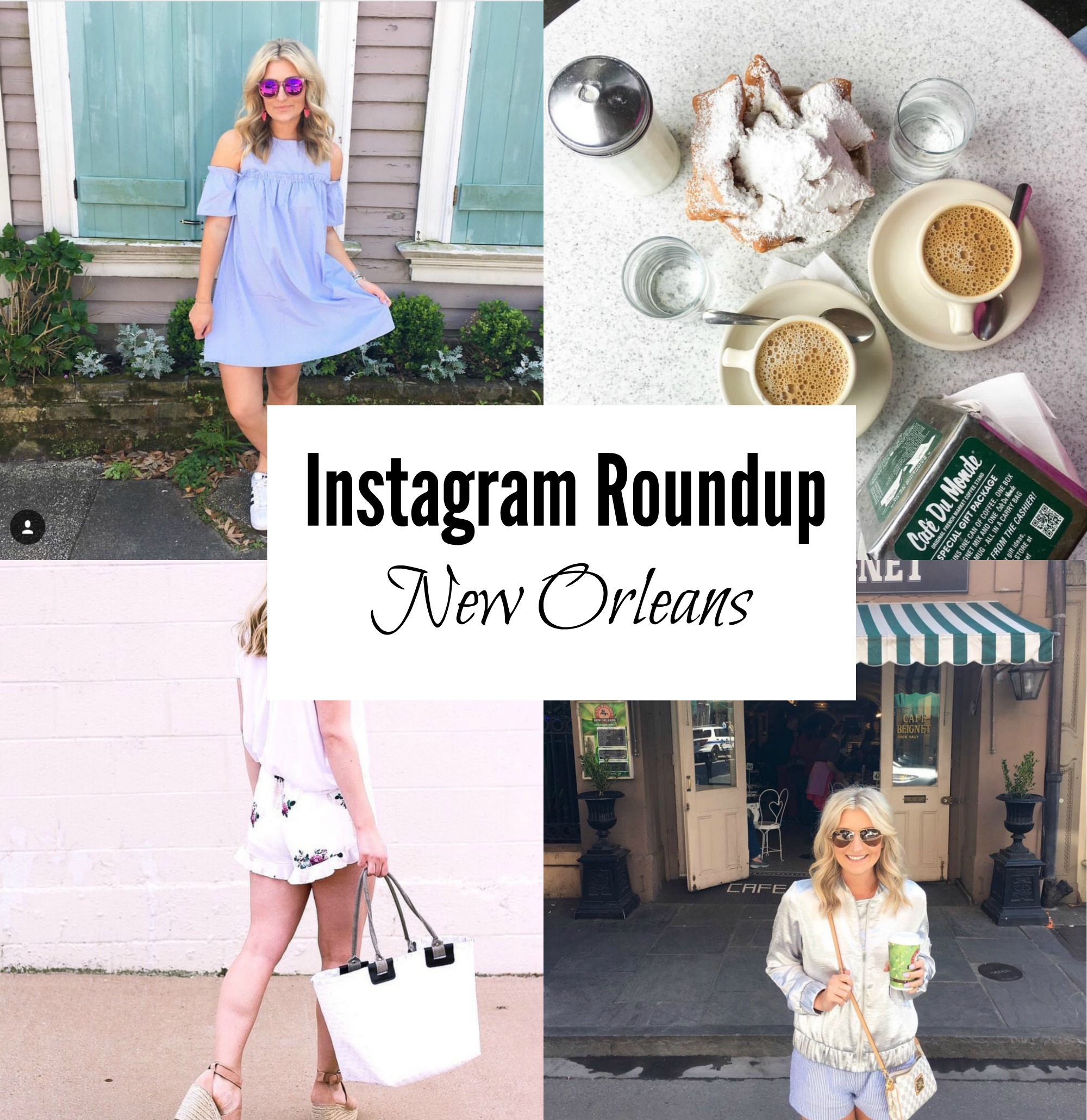 New Orleans Instagram Roundup featured by popular Texas travel blogger, Audrey Madison Stowe