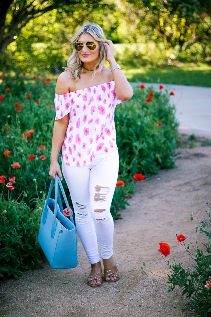 Spring Work Bag With Dagne Dover by lifestyle and fashion blogger Audrey Madison Stowe - Dagne Dover Tote by popular Texas style blogger Audrey Madison Stowe
