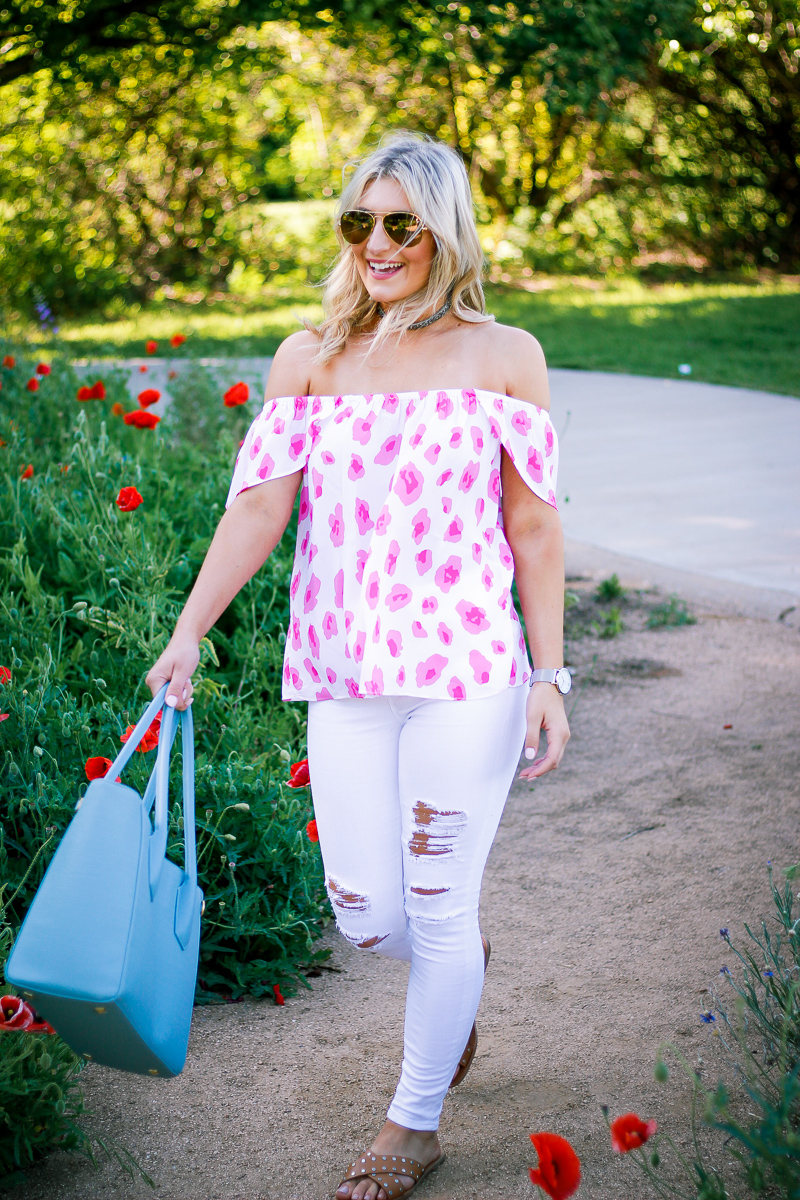 Spring Work Bag With Dagne Dover by lifestyle and fashion blogger Audrey Madison Stowe