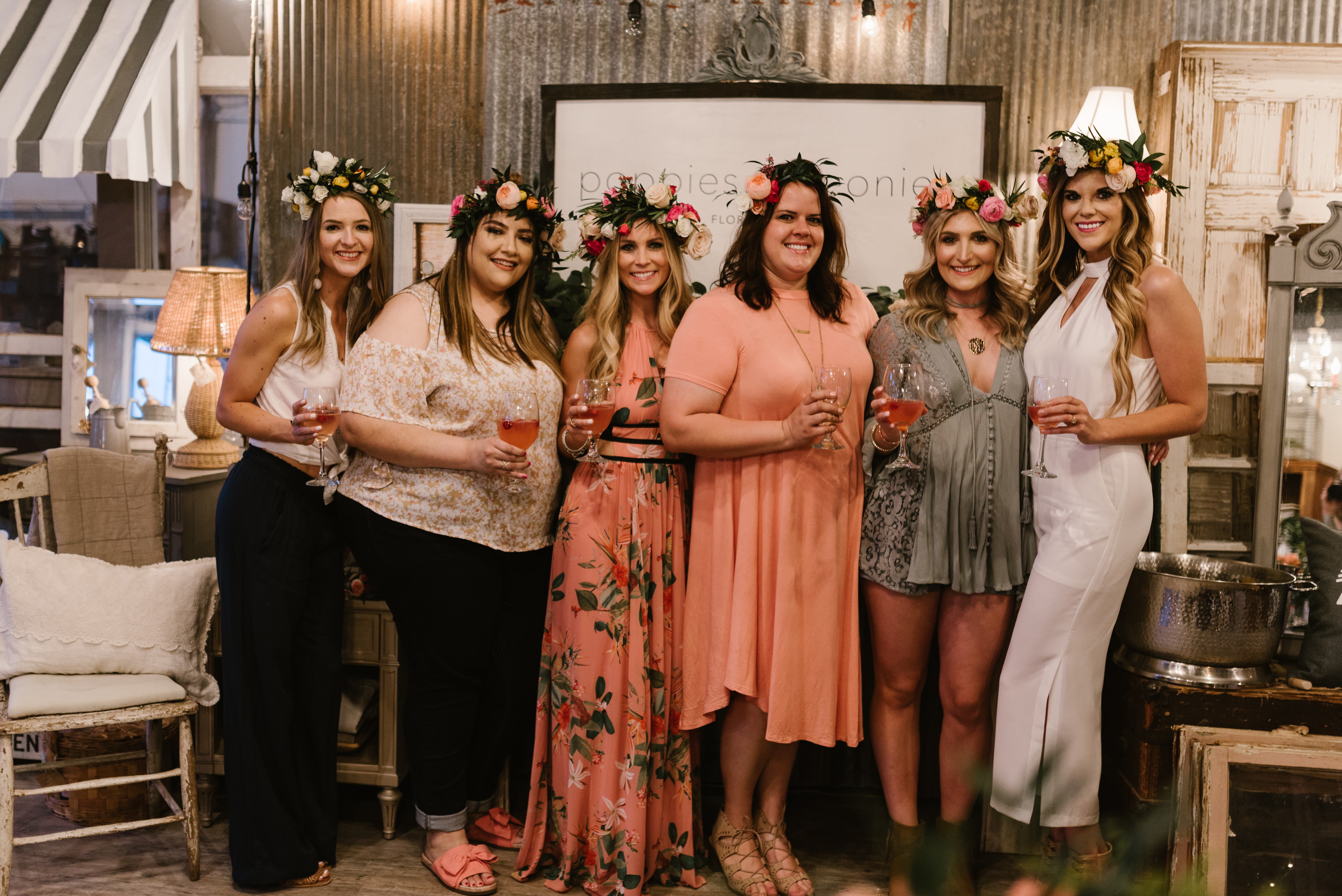 Flower Crown Party in West Texas | Bachelorette Idea | Lubbock, TX bloggers | by lifestyle and fashion blogger Audrey Madison stowe