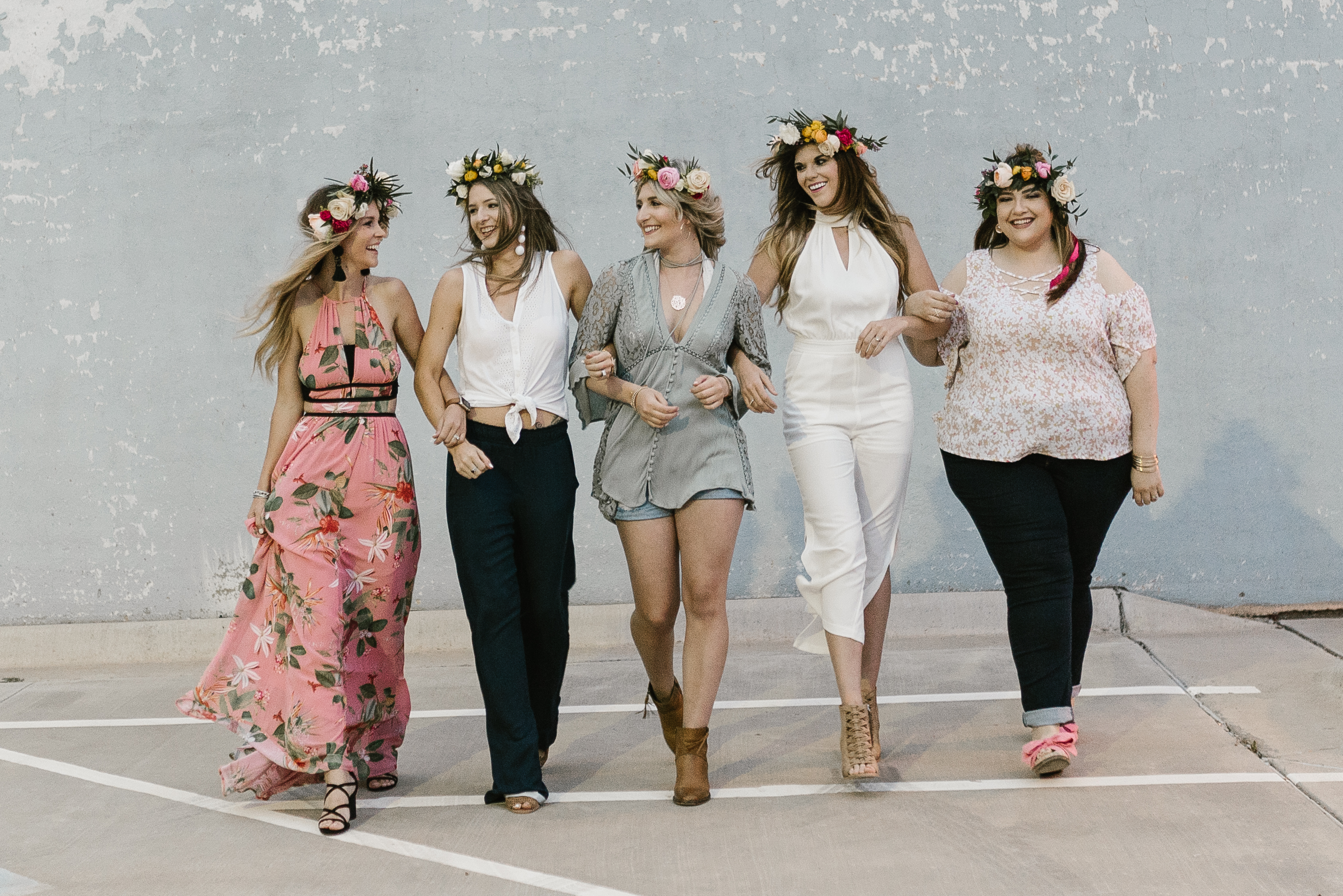Flower Crown Party in West Texas   Bachelorette Idea   Lubbock, TX bloggers   by lifestyle and fashion blogger Audrey Madison stowe