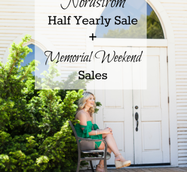 Nordstrom Half Yearly Sale + Memorial Day Sales 2017