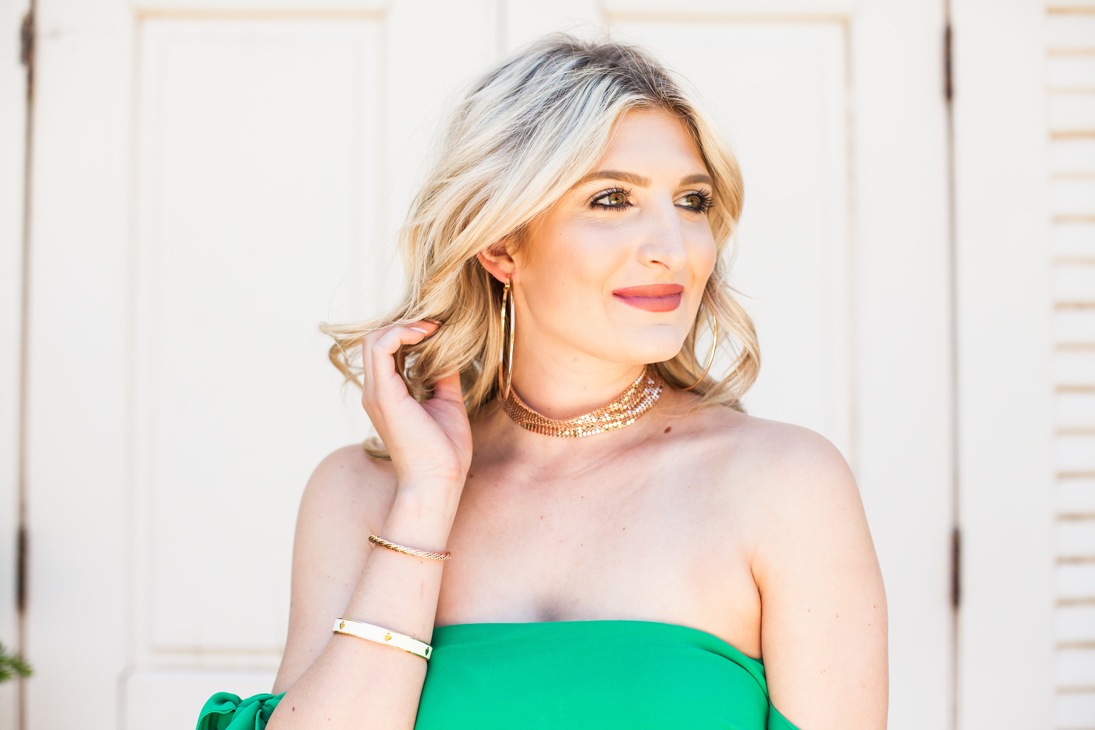 Girl in the Green Dress | Fashion and lifestyle blogger | Hot color for Summer | Asos | Audrey Madison Stowe Blog