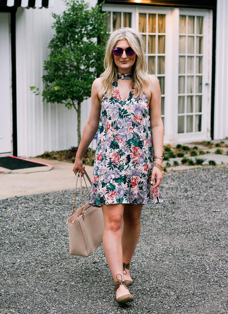 Summer Floral Dresses Under $50