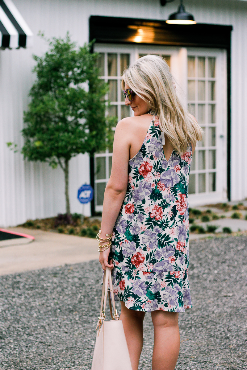 Summer Floral by lifestyle and fashion blogger Audrey Madison Stowe | College lifestyle | Texas Fashion
