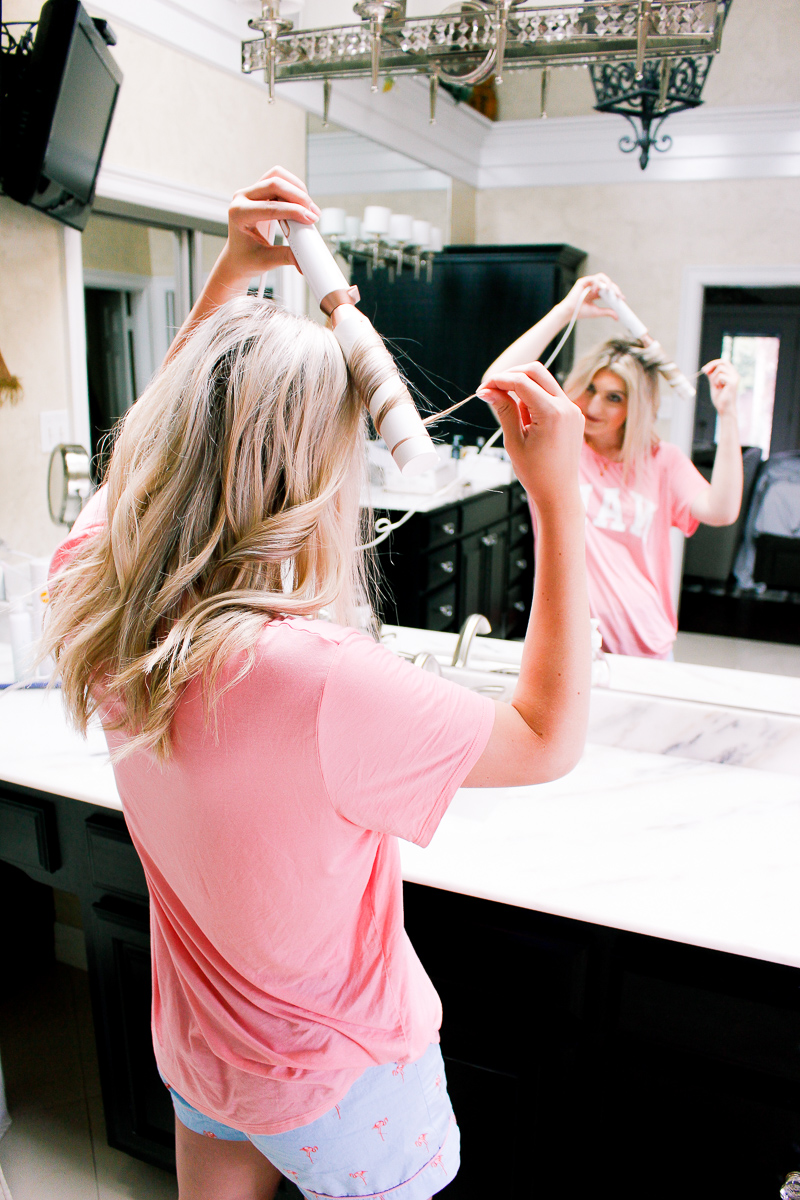 How I Get Tousled Curls For Summer | T3 Micro | Texas based lifestyle and fashion blogger Audrey Madison Stowe