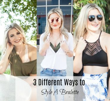 3 Different Ways To Style A Bralette With Kohls