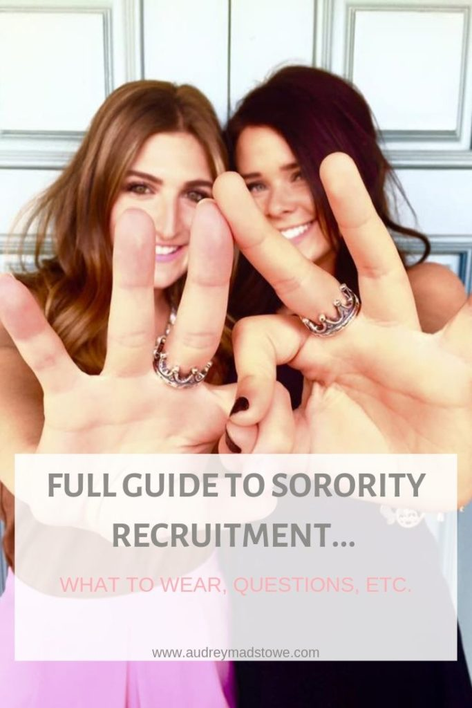 Full Guide To Sorority Recruitment | Everything You Need to Know |