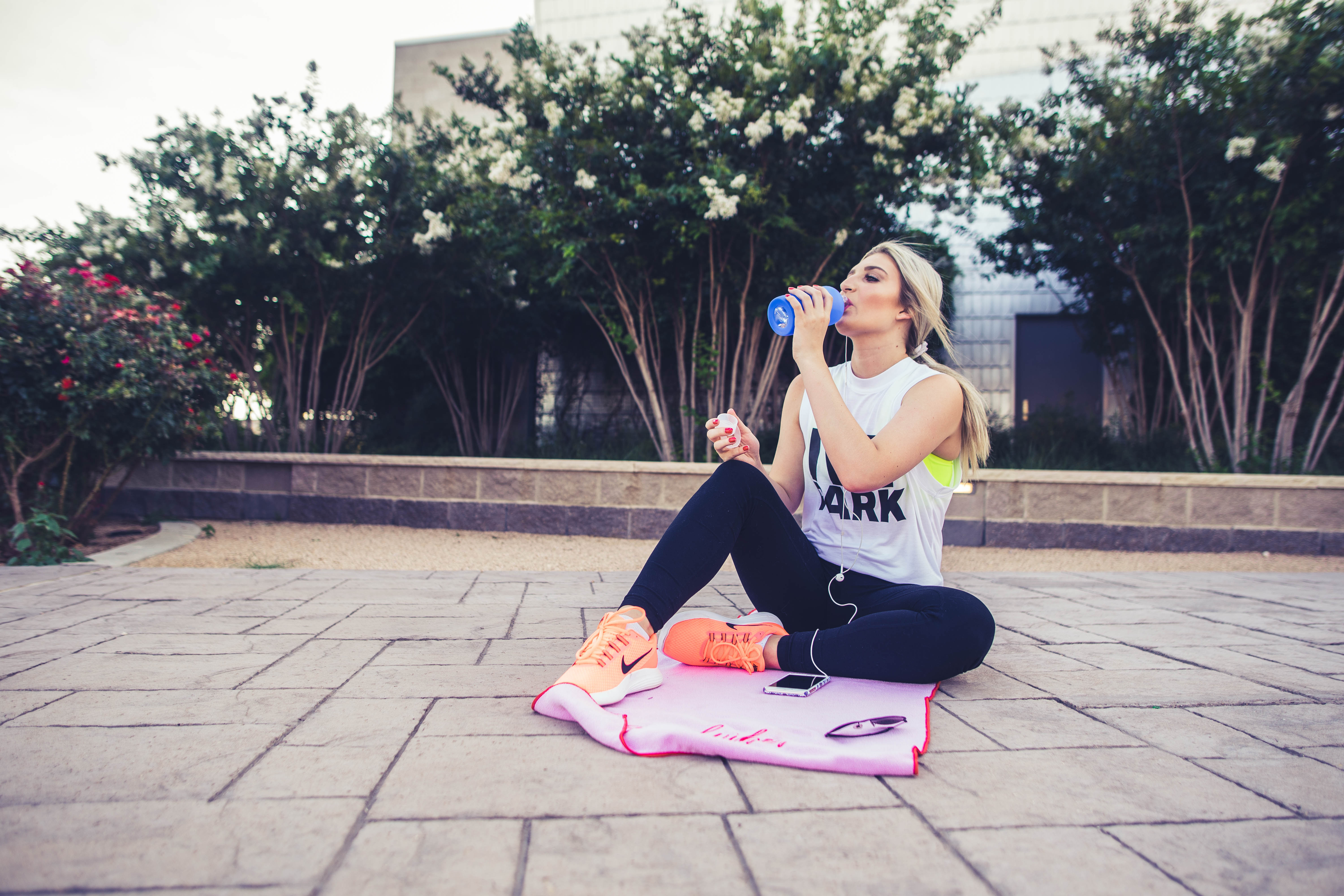 College Workout Routine for Summer   West Texas   Audrey Madison Stowe lifestyle and fashion blogger