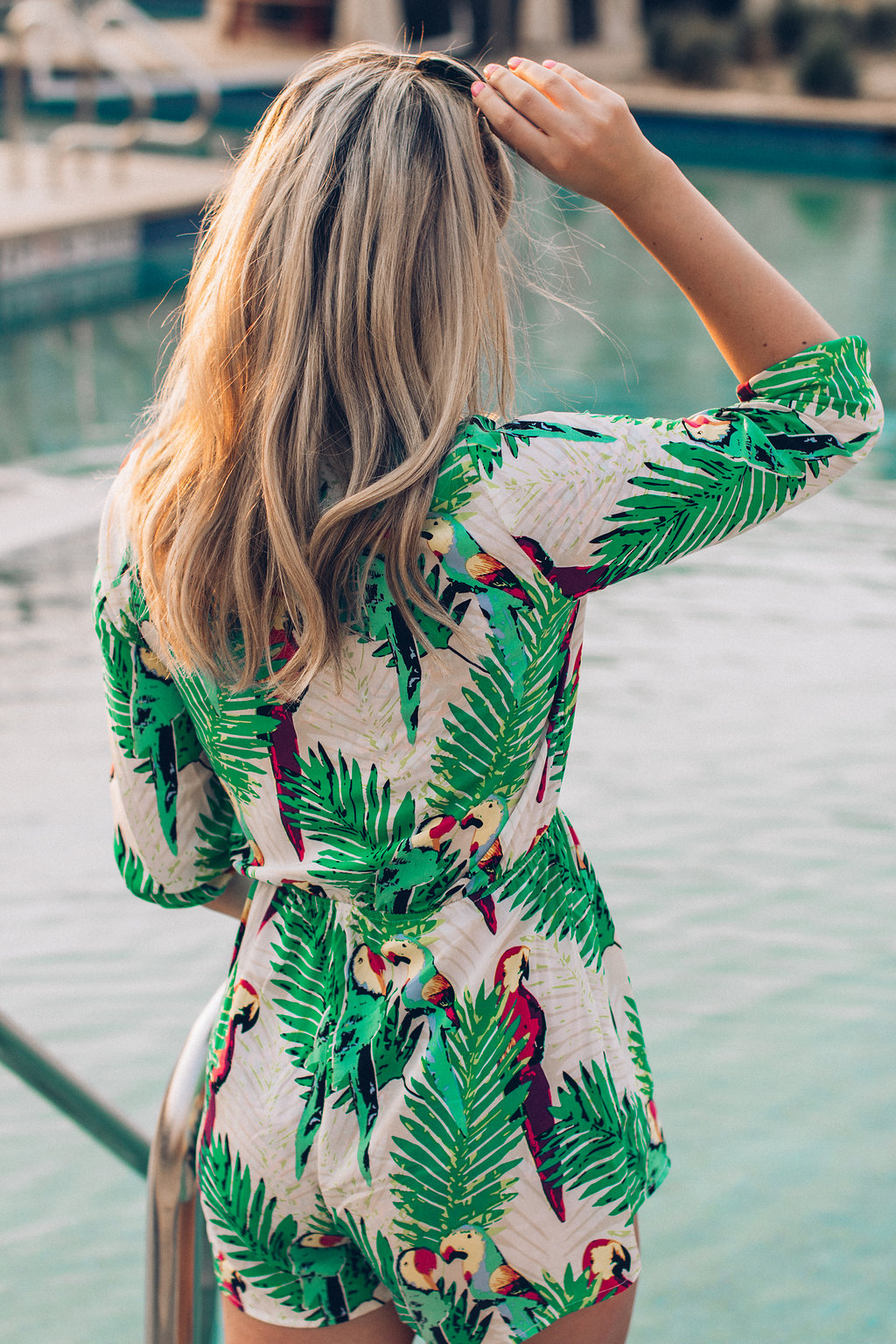 Beach Romper and Summer Favorites | AMS a lifestyle and fashion blog