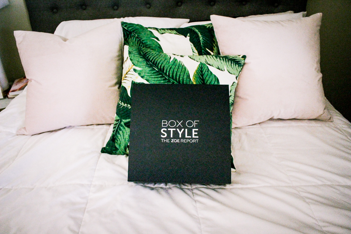 The Zoe Report Summer Box of Style   Audrey Madison Stowe a fashion and lifestyle blogger   Review