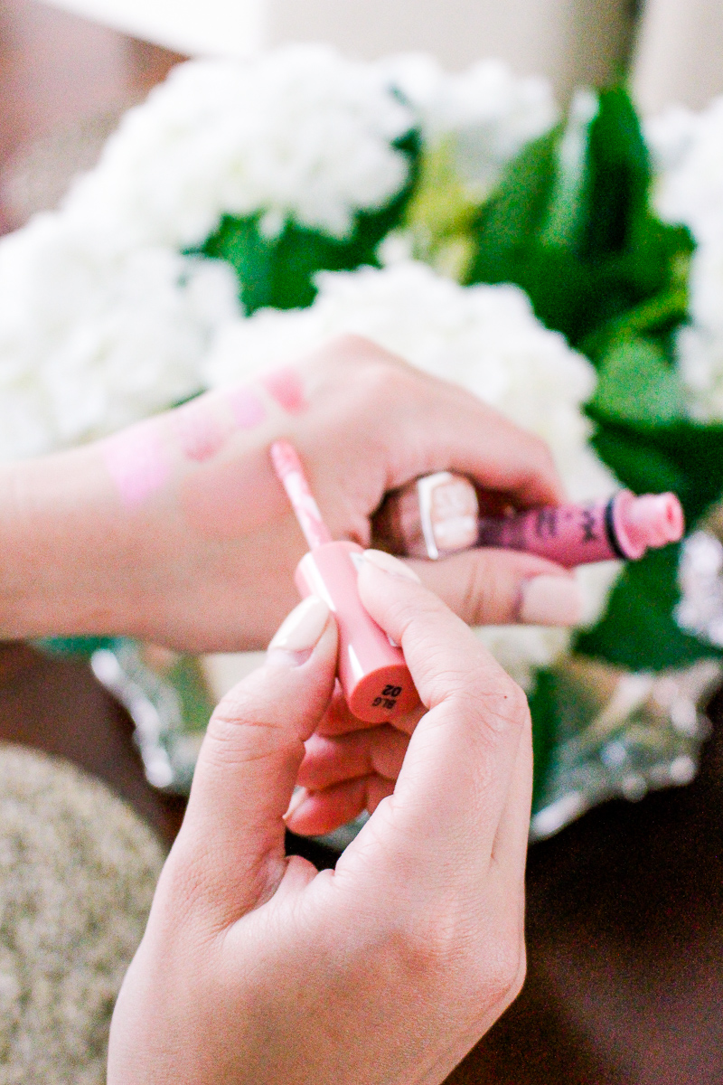 Summer Lip Colors / Audrey Madison Stowe lifestyle and fashion blogger