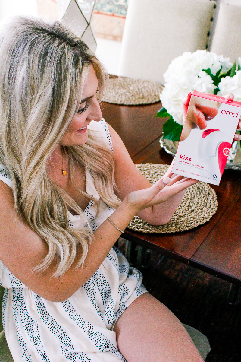 PMD Kiss Review / Get Fuller Lips / Audrey Madison Stowe a fashion and lifestyle blog