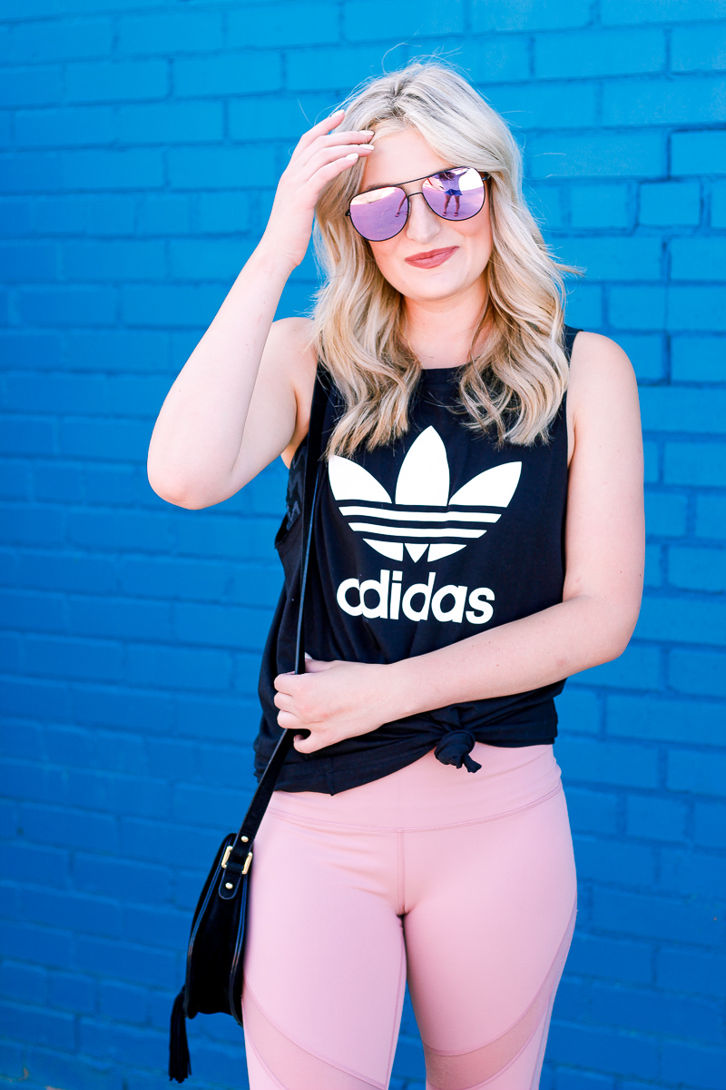 3 Ways to Wear Your Athletic Tank | Adidas | Nordstrom | Audrey Madison Stowe a fashion and lifestyle blogger