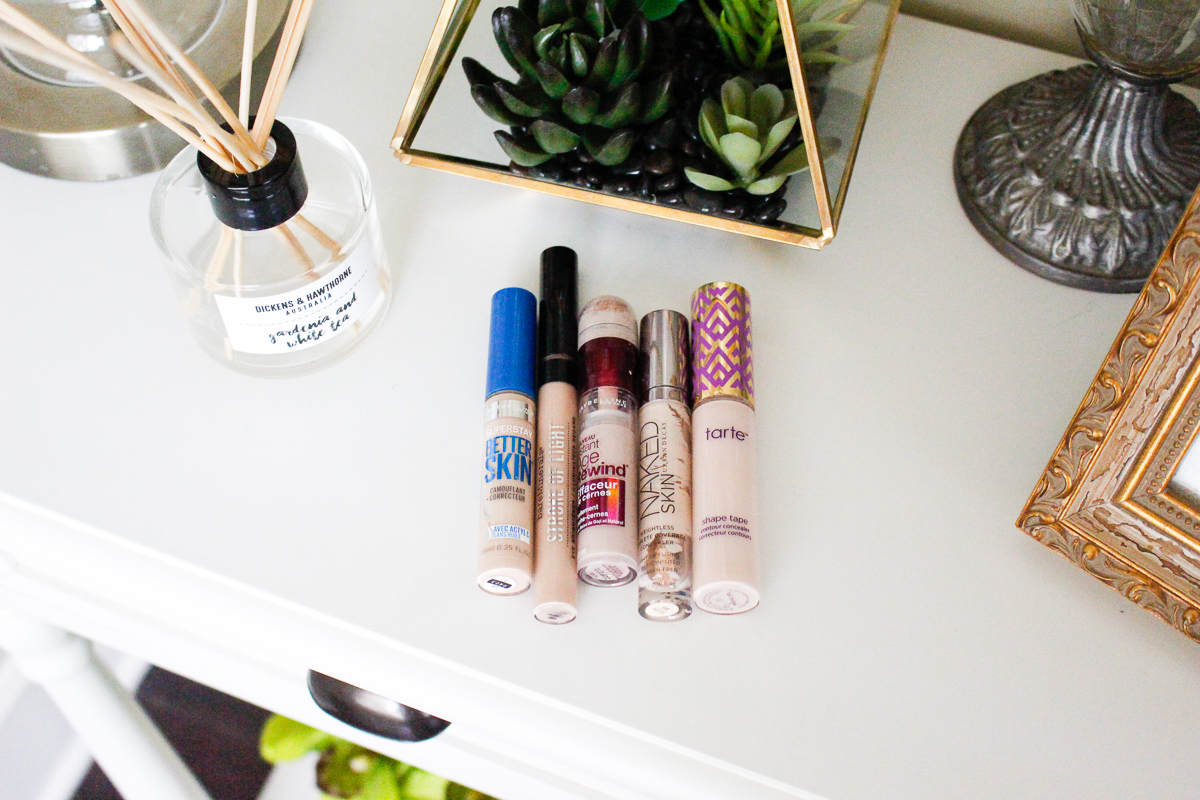 Top 5 Concealers   Fall face coverage   Audrey Madison Stowe a fashion and beauty blogger based in Texas