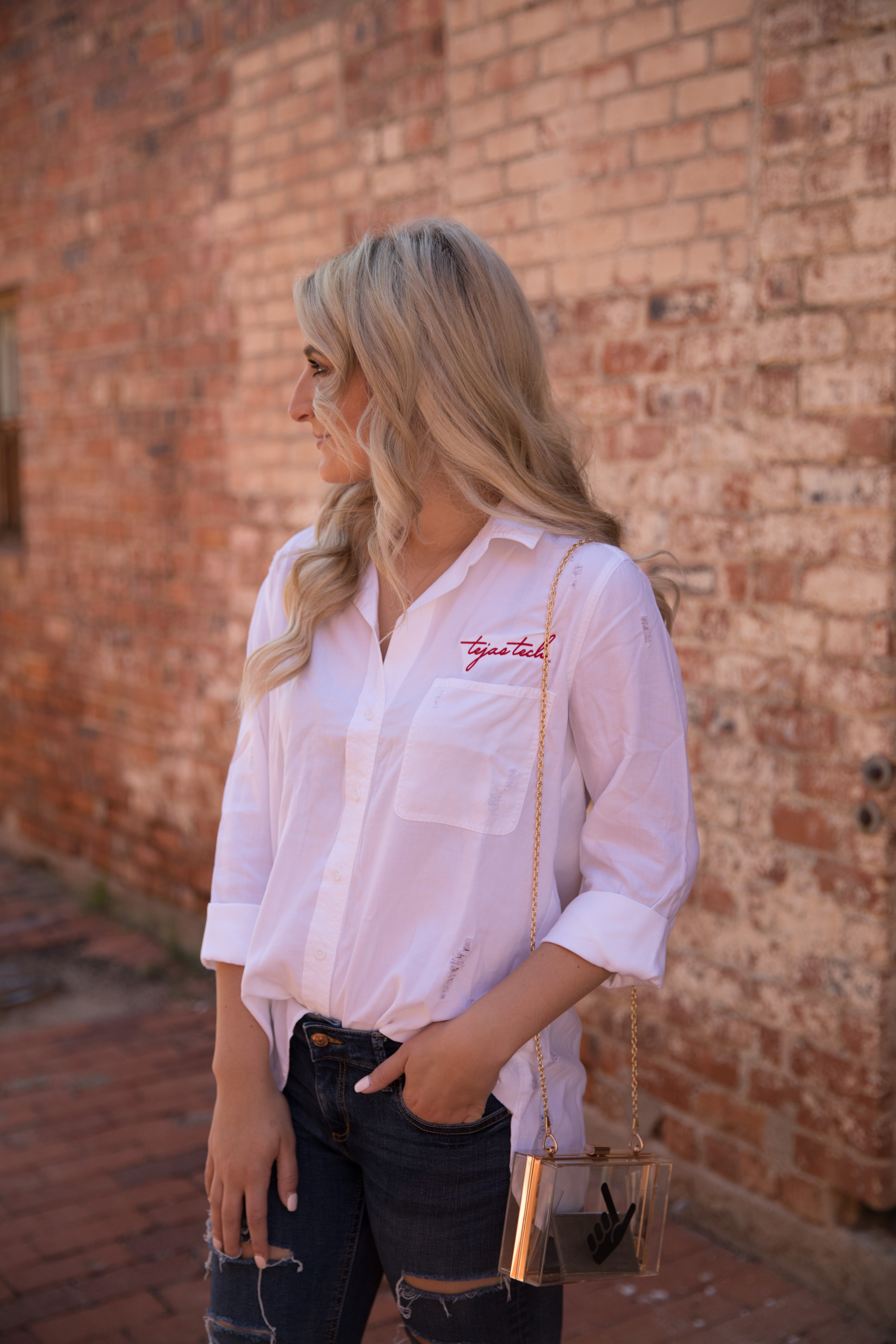 Texas Tech College Game day style | Sideline Swagger | Audrey Madison Stowe a fashion and lifestyle blog