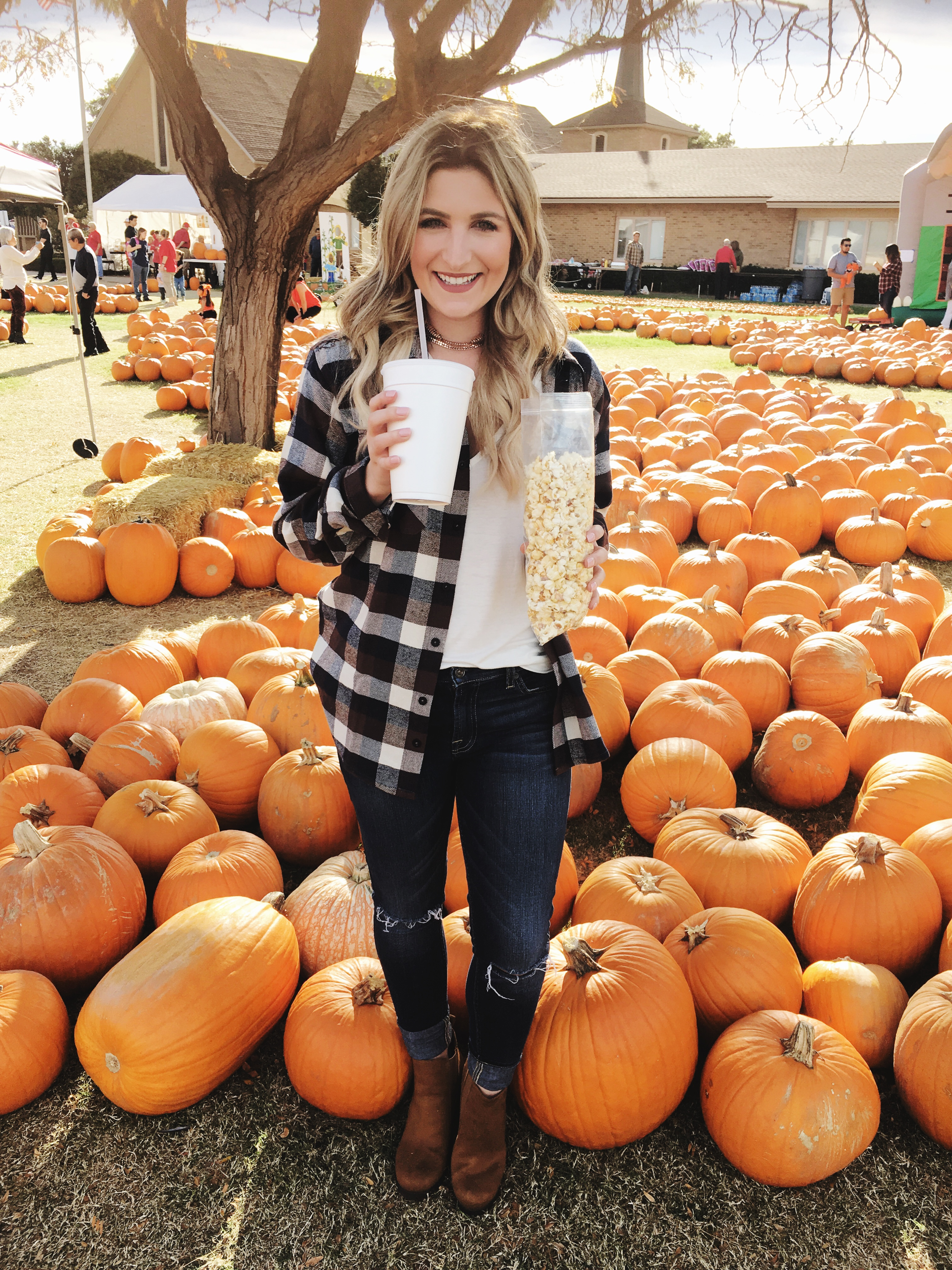 Instagram Roundup | Lubbock Pumpkin Patch | Audrey Madison Stowe a fashion and lifestyle blogger based in Texas