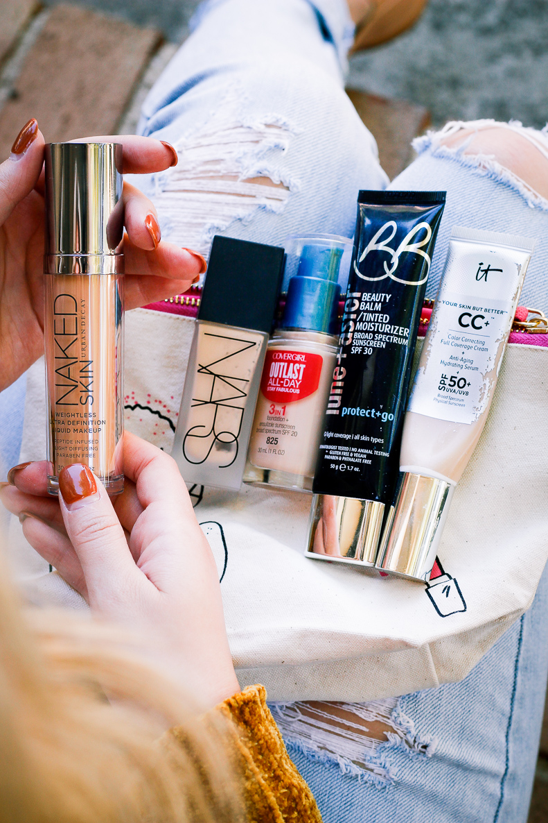 Top 5 foundations   Drugstore to high-end   Audrey Madison Stowe a fashion and lifestyle blogger