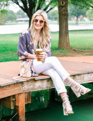 Easy Duster Kimono | Audrey Madison Stowe a fashion and lifestyle blogger