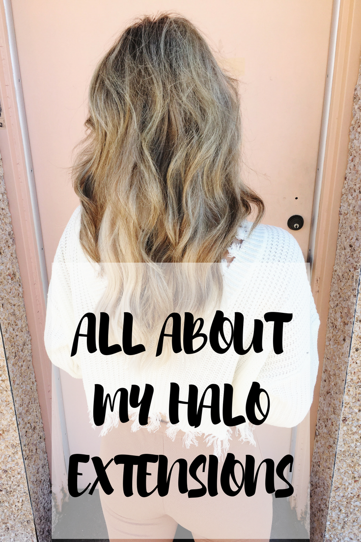 HALO CROWN HAIR EXTENSIONS featured by popular Texas beauty blogger, Audrey Madison Stowe