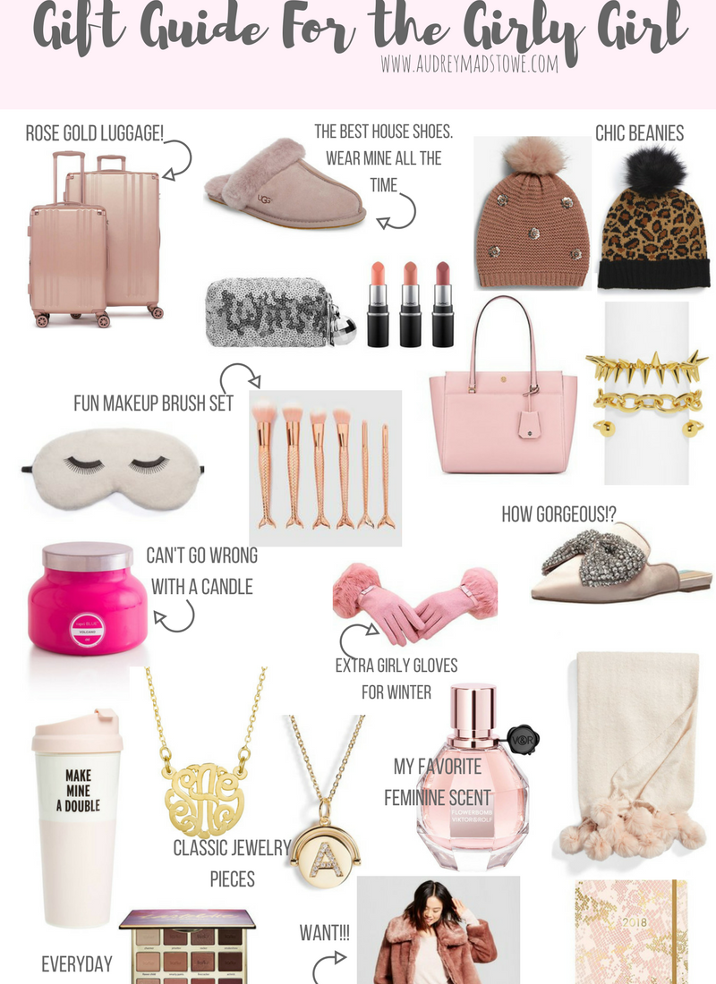 Gift Guide For the Girly Girl | Audrey Madison Stowe a fashion and lifestyle blogger | Holiday gift guide - The Best Girly Gifts featured by popular Texas style blogger, Audrey Madison Stowe