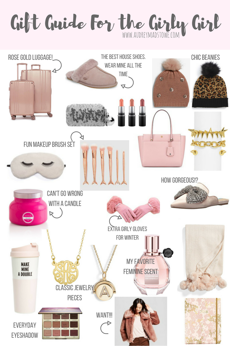 Gift Guide For the Girly Girl | Audrey Madison Stowe a fashion and lifestyle blogger | Holiday gift guide
