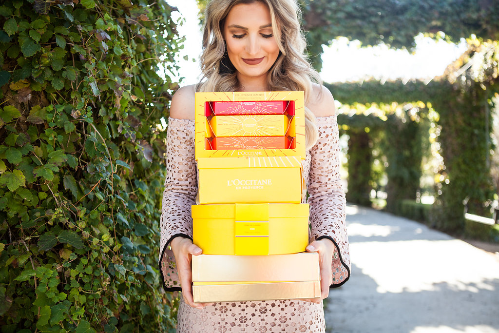 L'Occitan Holiday Gifts for the girl | Luxurious skincare | Audrey Madison Stowe a fashion and lifestyle college blogger