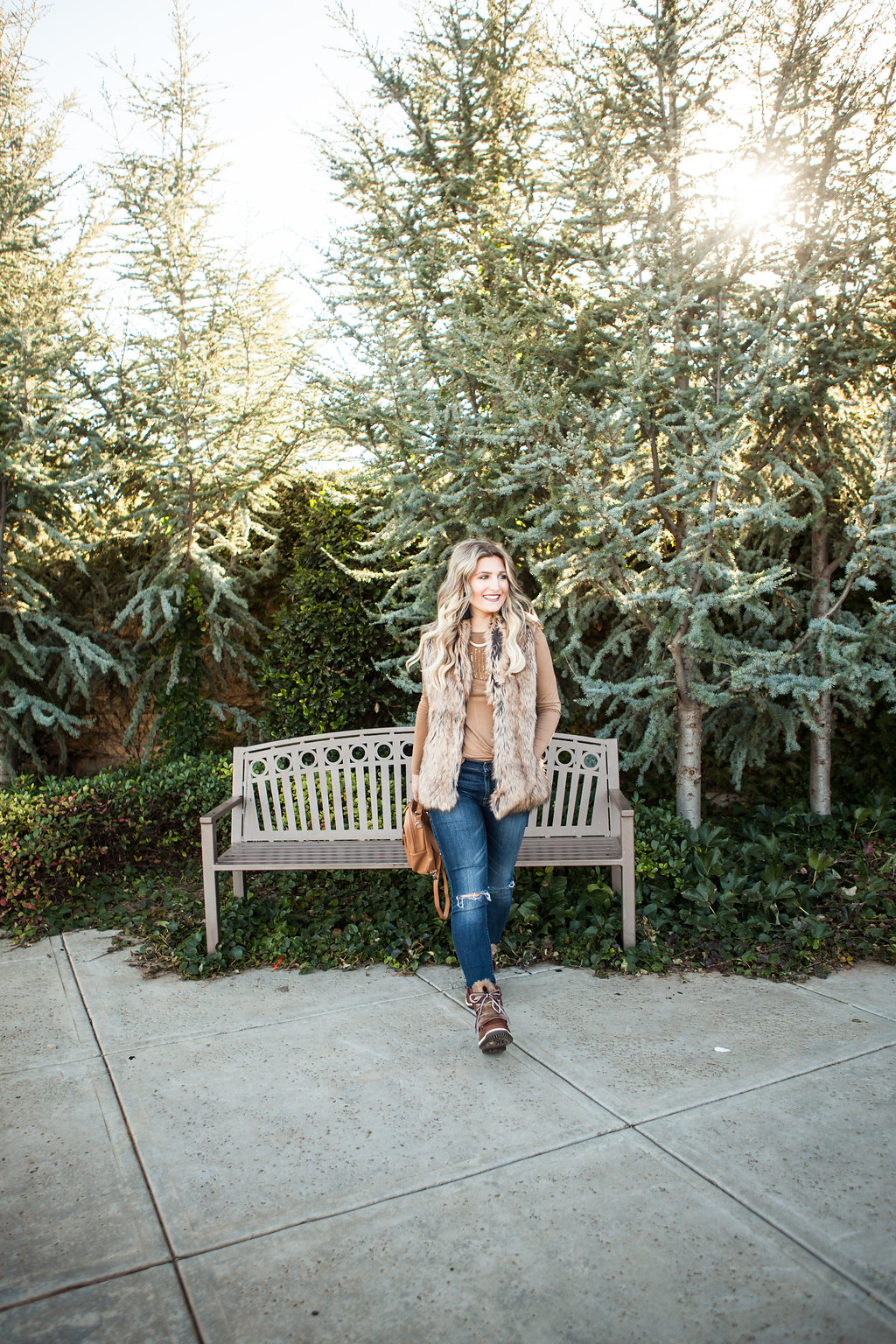 Boots With The Fur | Jambu Denali | Fur vest | Winter Style | Audrey Madison Stowe a fashion and lifestyle blogger