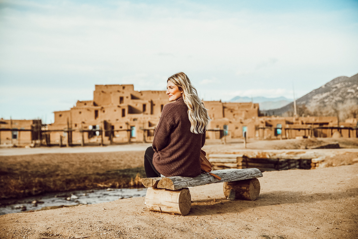 Taos Pueblo | Taos New Mexico | Audrey Madison Stowe a fashion and lifestyle blog - Travel Diary: Taos Travel Guide by popular Texas blogger Audrey Madison Stowe