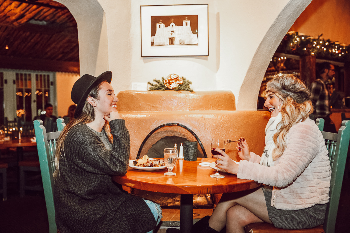 Taos Travel Diary | Adobe Bar | Taos New Mexico | Audrey Madison Stowe a fashion and lifestyle blogger