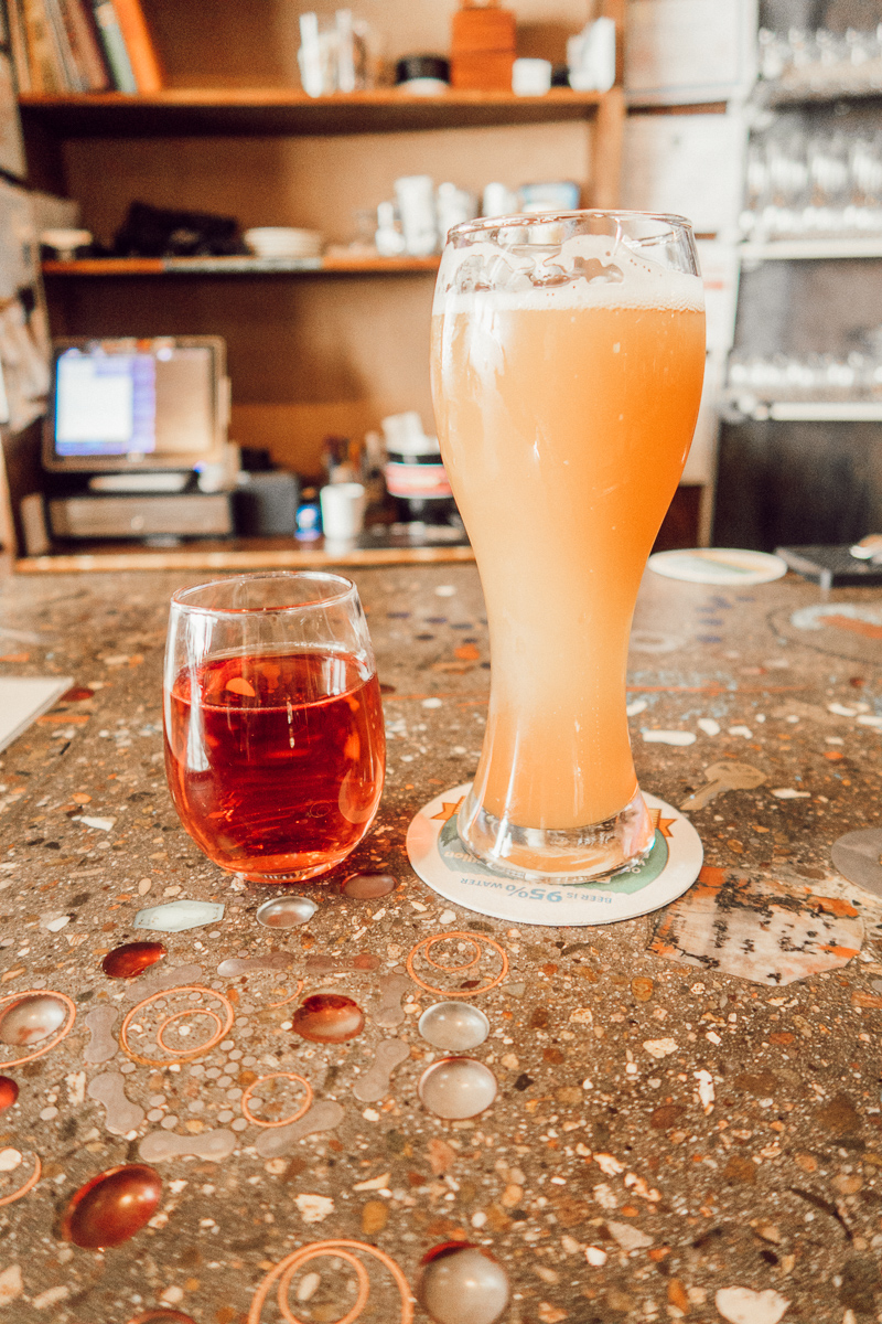 Taos Travel Diary | Brewing Co | Taos New Mexico | Audrey Madison Stowe a fashion and lifestyle blogger