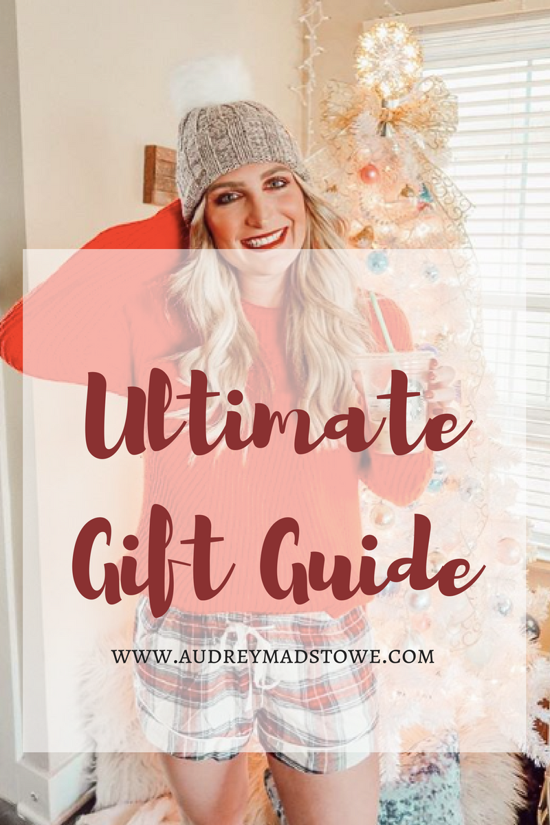 Ultimate Gift Guide Roundup 2017 | Audrey Madison Stowe a fashion and lifestyle blogger - Ultimate Gift Guide: Gifts For Everyone by Texas style blogger Audrey Madstowe
