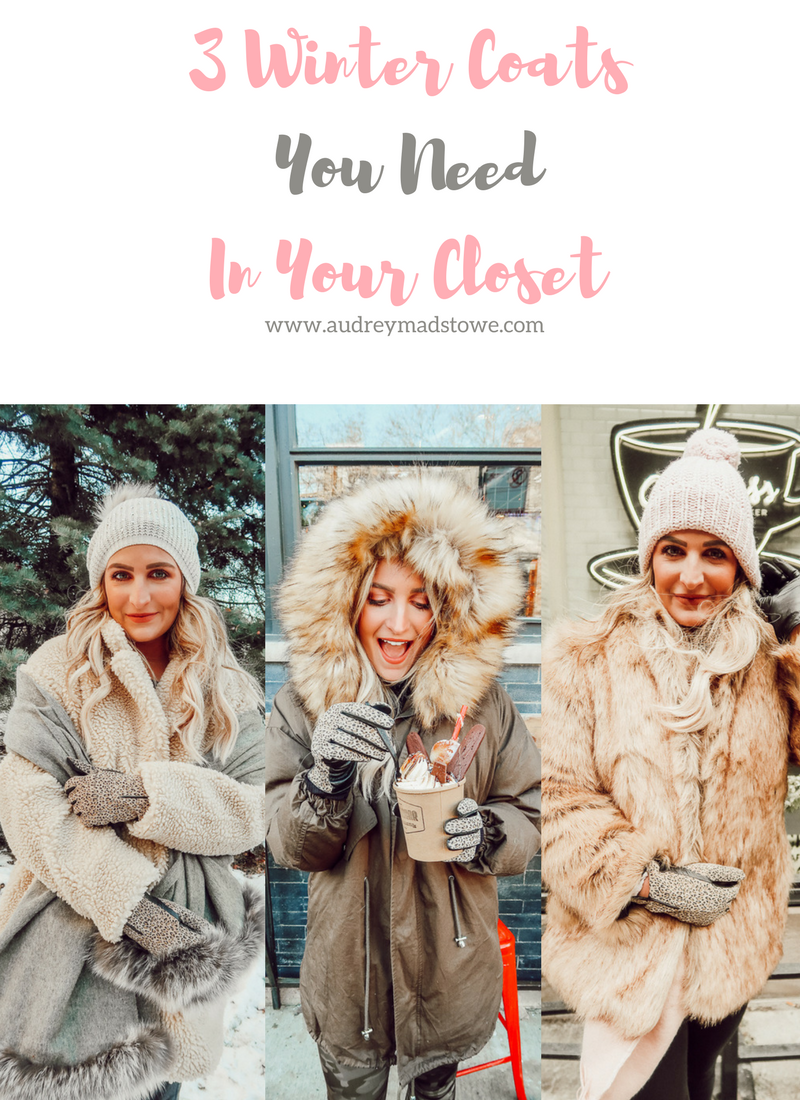 3 Fur Coats To Purchase this Winter | Audrey Madison Stowe a fashion and lifestyle blogger