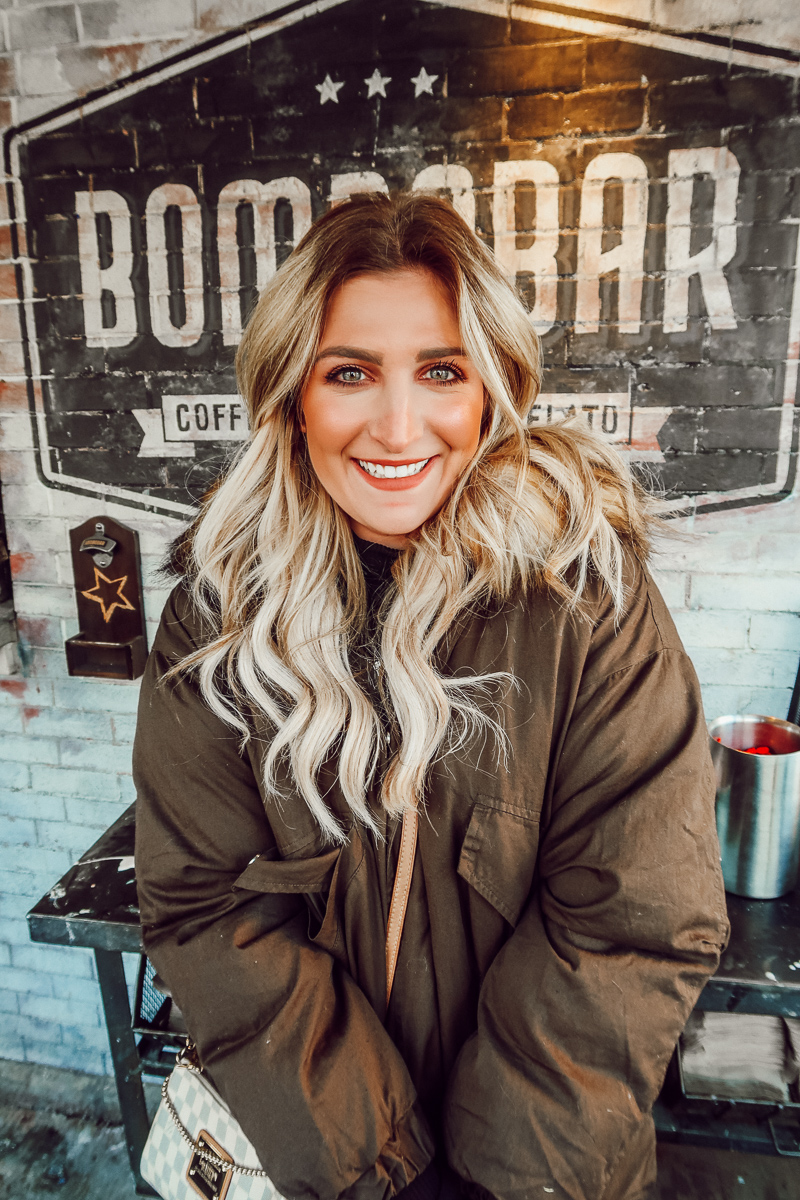 BomboBar Chicago | Audrey Madison Stowe a fashion and lifestyle blogger | Chicago travel - Weekend in Chicago by popular Texas blogger Audrey Madison Stowe