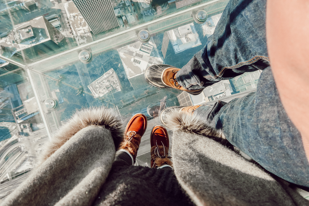 Chicago Skydeck | Audrey Madison Stowe a fashion and lifestyle blogger | Chicago bucket list