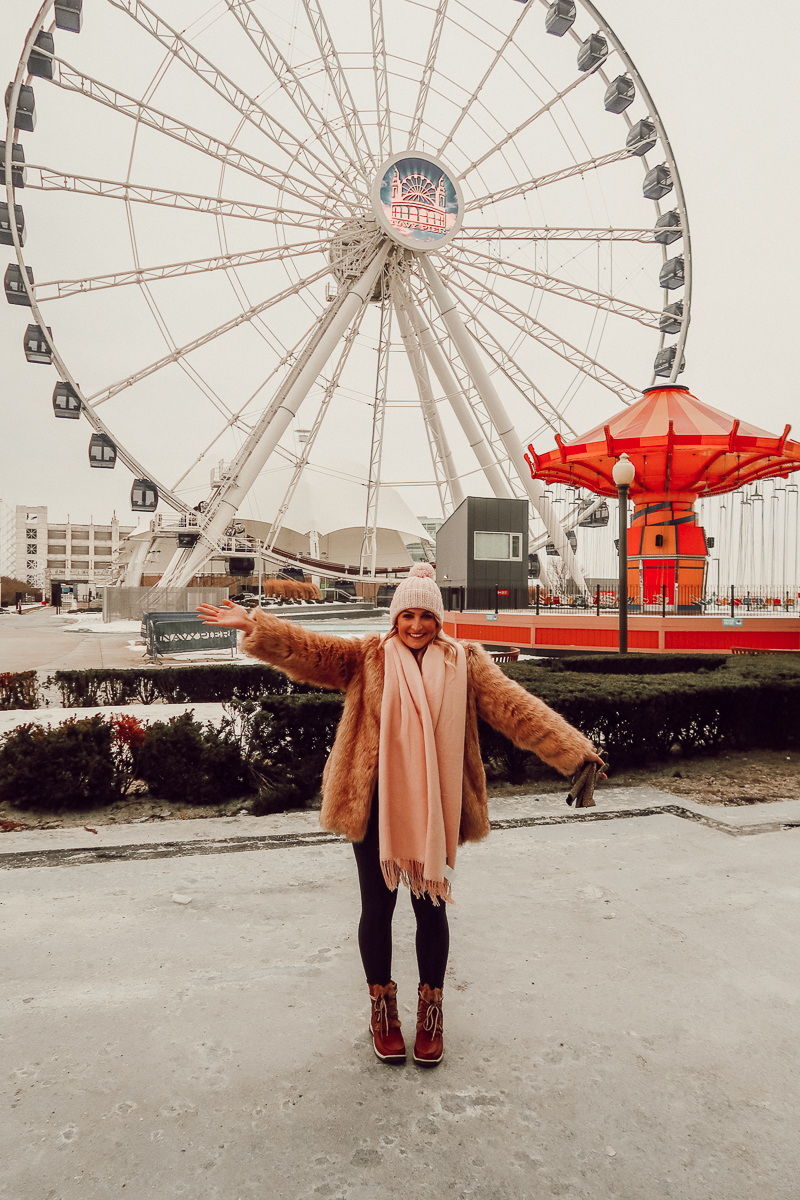Navy Pier | Chicago Travel Diary | Audrey Madison Stowe a fashion and lifestyle blogger - Weekend in Chicago by popular Texas blogger Audrey Madison Stowe