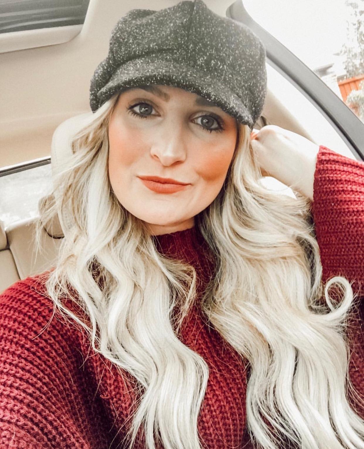 Newsboy cap | Bakersboy hat | cadet cap | Audrey Madison Stowe a fashion and lifestyle blogger