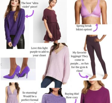 Ultra Violet: Pantone Color of The Year