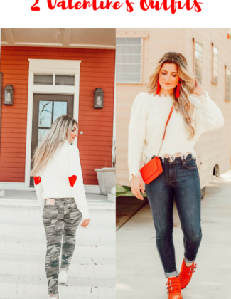 2 Valentine's Outfits | Audrey MAdison Stowe a fashion and lifestyle blogger