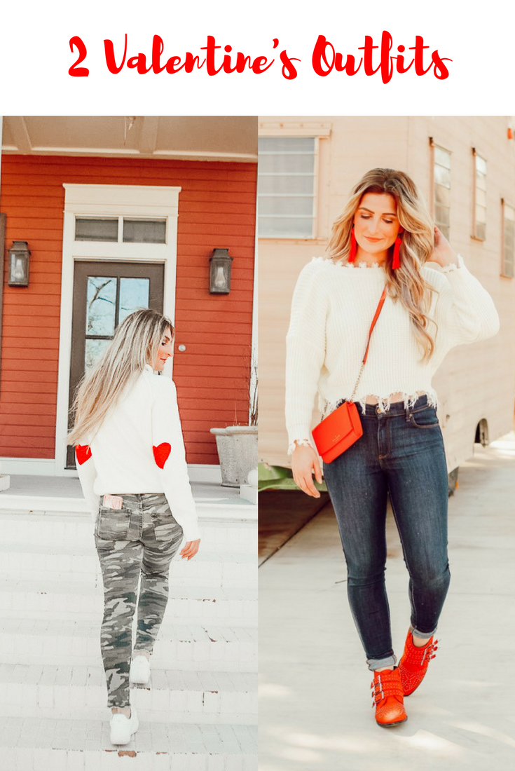 2 Valentine's Day Outfits