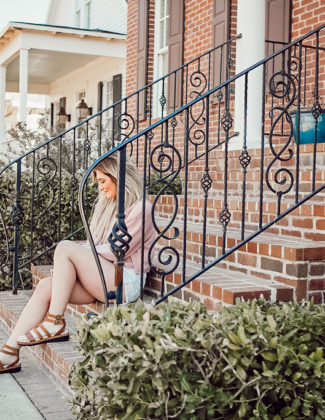 Every Day Spring Outfit with Jambu Shoes   Audrey Madison Stowe a fashion and lifestyle blogger - Jambu Shoes review by popular Texas style blogger Audrey Madison Stowe