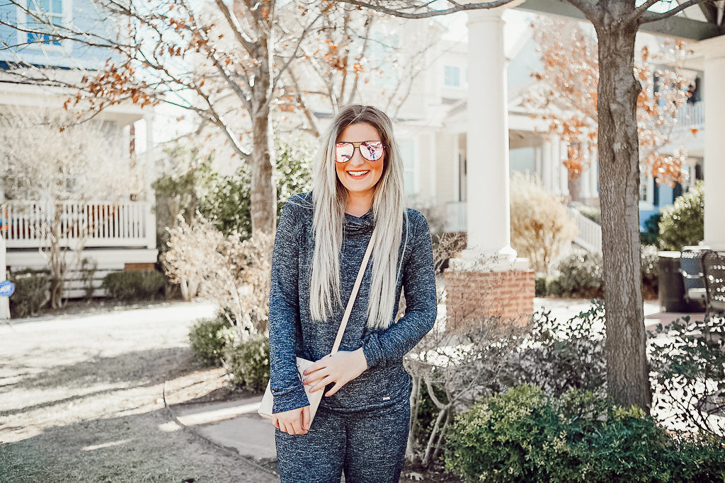 Comfiest Lounge Wear | Hello Mello | Audrey Madison Stowe a fashion and lifestyle blogger - The Softest Lounge Wear with Hello Mello by popular Texas fashion blogger Audrey Madison Stowe